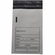 Envelope Plástico Sangria Caixa Inviolável 12x20cm (50pc)