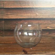Kit 10 Vaso Tipo Aquario De Vidro 700ml Decoração Casamentos
