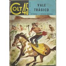 Colt 45 Nº 3 - Vale Trágico - Ediex - Set/1962