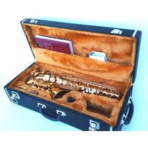 Estojo Case Para Sax Tenor Em Dó Com Compartimento - Kromus
