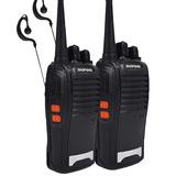 Par De Radios Comunicador 777 Ht Uhf 16 Canais Profissional