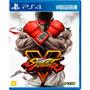 Street Fighter V 5 Mídia Física Ps4 Em Português
