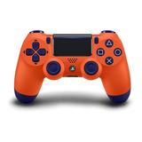 Controle Joystick Sony Dualshock 4 Sunset Orange
