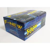 Fonte Atx 500 Watts Real F-new - Nova Na Caixa