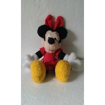 Boneca Minie Articulada Disney Pelúcia 30 Cm