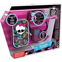 Microfone Viva Voz Horripilante Monster High Intek Promoção