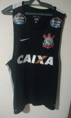 8a77d29813 0d35084f3a9ea4  Camisa Regata Do Corinthians Treino Exclusiva Jogador Jogo  - R 230 .