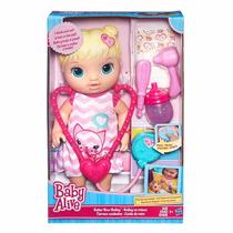 Boneca Bebê Baby Alive Loira Medica Cuida De Mim - Hasbro