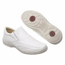 Sapato Social Confort Branco Promoção De 179,90 Por 89,90
