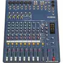 Mesa De Som Analógica Console Mixer Yamaha Mg124c