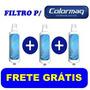 Refil Filtro Vela Purificador Colormaq - Frete Grátis