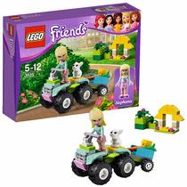 Lego Friends O Jipe Da Stephanie 3935
