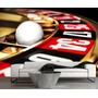 Papel De Parede Auto Adesivo Roleta Cassino Jogos Gg540
