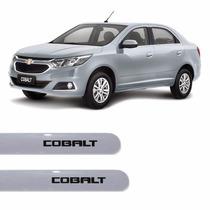 Friso Lateral Chevrolet Novo Cobalt 2016 Prata Switchblade *