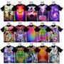 Camiseta Camisetas Camisa Psicodélicas Rave Trance