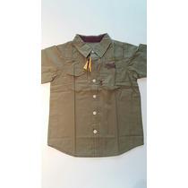 Camisa Tigor T. Tigre Casual Manga Curta Tamanhos 4 E 10a