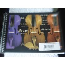Kit Com 3 Cadernos De Música Pequenos