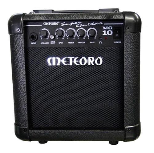 Amplificador Meteoro Super Guitar Mg 10 Transistor 10w Preto 110v/220v