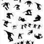 Papel De Parede Skate, Esporte,  Lavável Viníl 3,10m