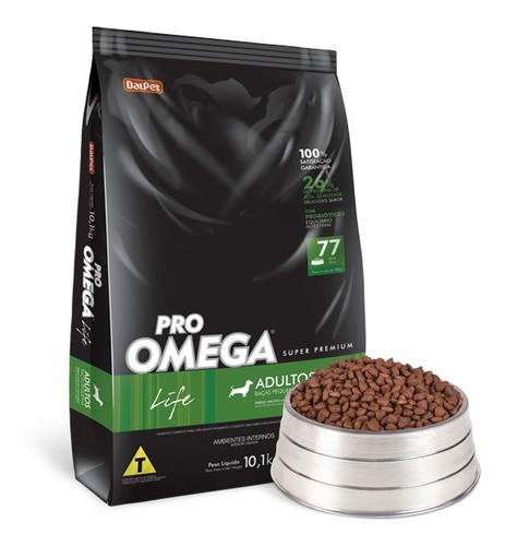 Ração Super Premium - Pro Omega Raças Pequenas - 10,1 Kg