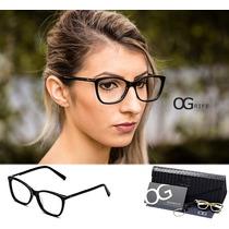 237f8dd28 Armação Oculos Ogrife Og 530-c Feminino Com Lente Sem Grau à venda ...