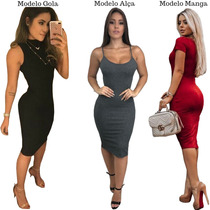 7f276920c4 Busca vestido curto canelado com os melhores preços do Brasil ...