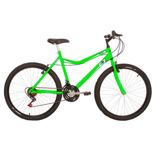 Bicicleta Mountain Bike Mormaii Aro 26 Jaws - Verde Neon