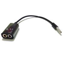 Adaptador P3 P/usar Microfone Lapela Em Celular Smartphone