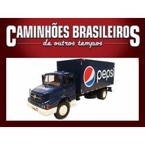 Caminhões Brasileiros Outros Tempo Mb L1614 Pepsi Ed. 25