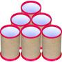 50 Porta Lápis, Porta Caneta Para Personalizar - Vermelho