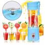 Mini Liquidificador Portátil Shake Juice Cup   Cabo Usb