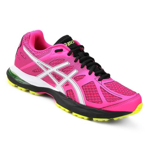 9ecf3a8c6f8a5 Tênis Asics Gel Spree Feminino - Pink E Branco - Original