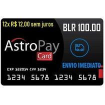 Cartão Astropay Gift Card 100 Brl