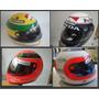 Capacete Senna F1 E Outros Personalizados A Pronta Entrega