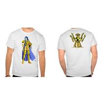 Camisa Cavaleiros Do Zodiaco Saga Gemeos Anime Manga Heroi