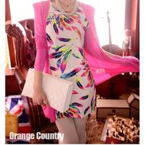 Vestido Vintage Com Cinto Importado Pronta Entrega No Brasil