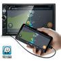 Central Multimídia Universal Mp5 Bt Espelhamento Android