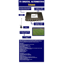 Receptor De Tv Digital Automotiva Xtune