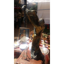 Estatua De Bronze Antiga