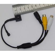 Kit Com 4 Micro Mini Câmera Espia Lente Noturna Microfone