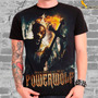 Camiseta Rock Powerwolf Preachers Of The Night