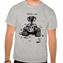 Camiseta Wall - E Filmes Camisa 100 % Algodão