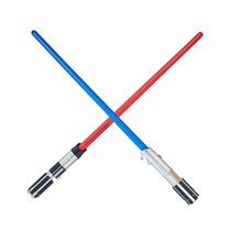 Kit Sabre De Luz Star Wars Luke Skywalker + Darth Vader Hasb