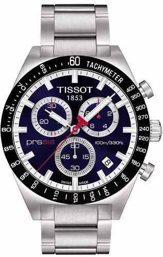 58b9cbdaa13 Relogio Tissot Prs 516 Azul Prs516 Suico Safira Original - R  517 en ...