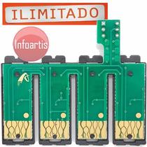 Kit C/ 5 Chip Full C79 Cx4900 Cx5600 Cx5900 Cx6900 Cx7300