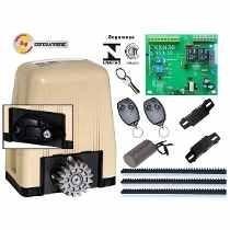Kit Automatizador De Portão Motor Rossi Dz3 Sk Turbo 1/4hp