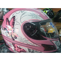 Capacete Feminino Mrc Helmet+frete Gratis
