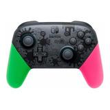 Controle Joystick Nintendo Pro Controller Switch Splatoon 2 Edition