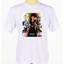 Camisa Camiseta Ichigo Kurosaki Série De Anime Mangá Bleach