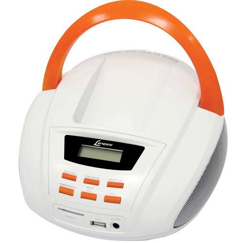 Radio Portatil Lenoxx Bd109 Fm / mp3 / usb / 3,5w Rms Bivolt